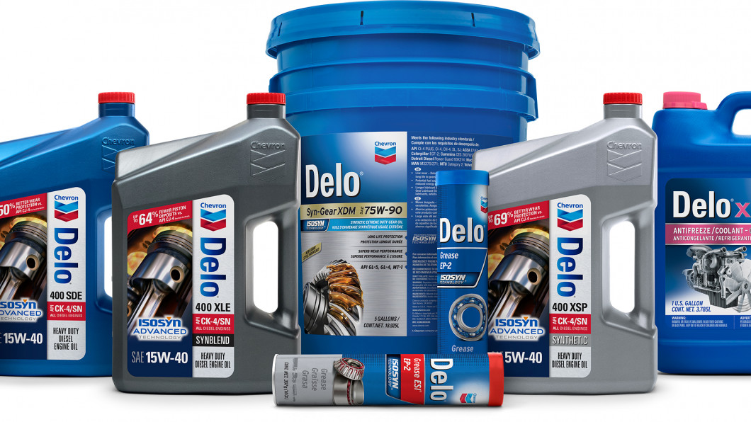 Chevron Heavy Duty Motor Oils (HDMO)